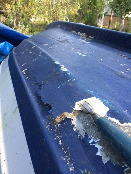 laga plastbåt steg för steg